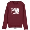 sweater kogelslingeren burgundy