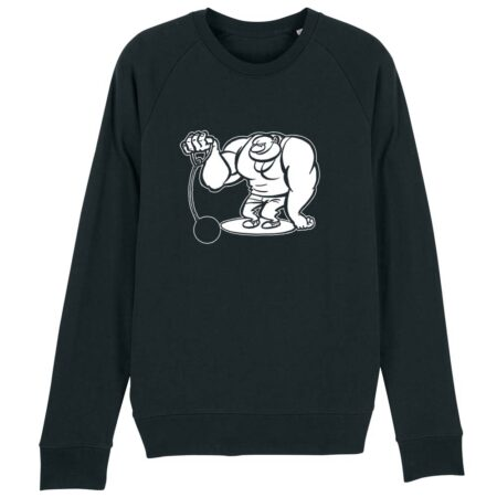 sweater kogelslingeren zwart