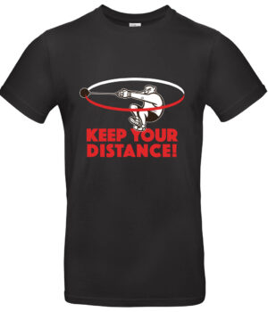 Keep your distance black hammer throwing