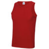 Men's singlet fire red