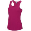 Ladies singlet hot pink