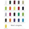 Men's singlets