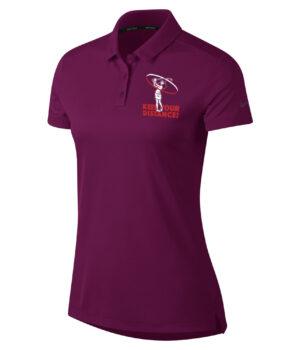 Nike polo shirt dames