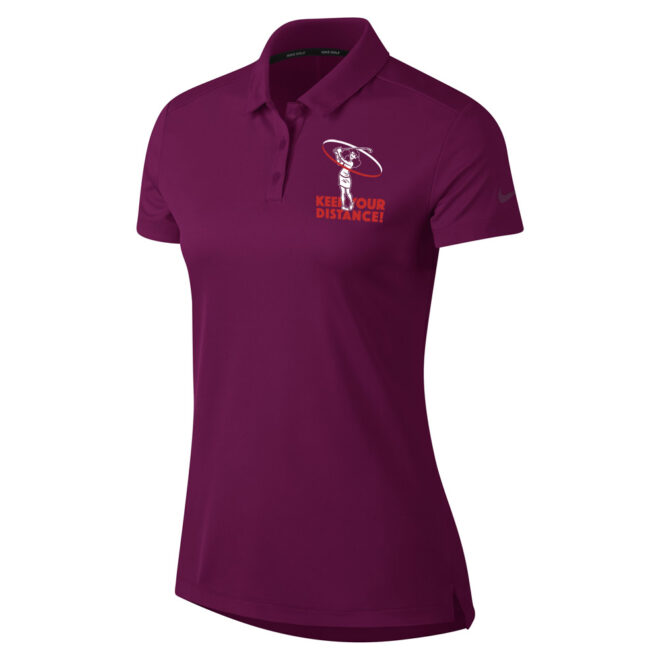 Nike polo shirt dames